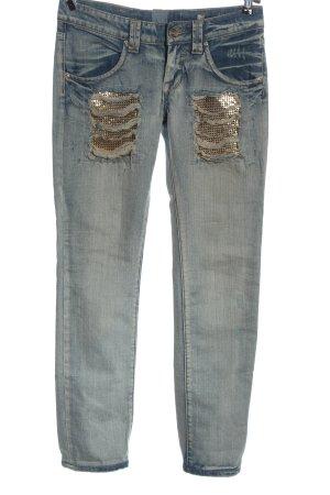 Gaudi Slim Jeans blue casual look