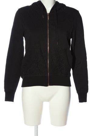 Gaudi Sweat Jacket black casual look