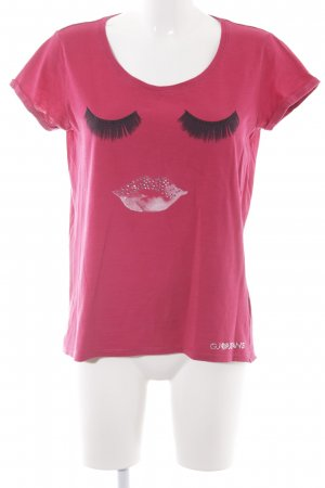 Gaudi T-Shirt neonrot Casual-Look