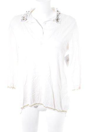 Gaudi V-Ausschnitt-Pullover mehrfarbig Elegant