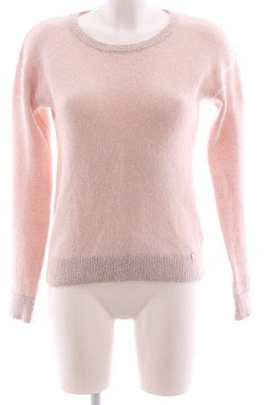Gaudi Wollpullover pink Casual-Look
