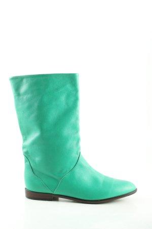 Gautsche Slip-on Booties turquoise casual look