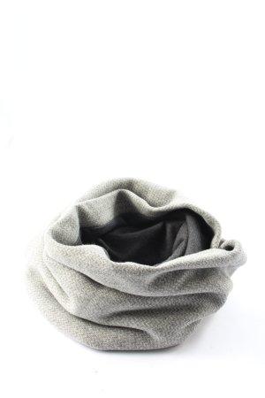 gazur studio Bufanda tubo gris claro look casual