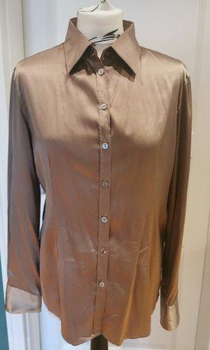 GC Fontana Silk Blouse light brown