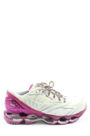 GCDS Schnürsneaker weiß-pink sportlicher Stil