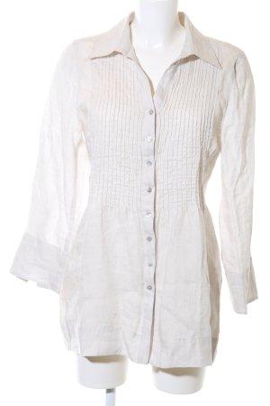 GCfontana Hemd-Bluse wollweiß Business-Look