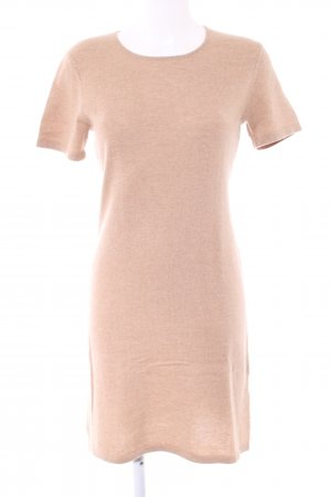GCfontana Strickkleid nude meliert Casual-Look