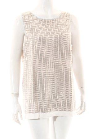 GCfontana Strickshirt grafisches Muster Business-Look