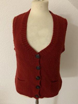 GC Fontana Fine Knitted Cardigan dark red