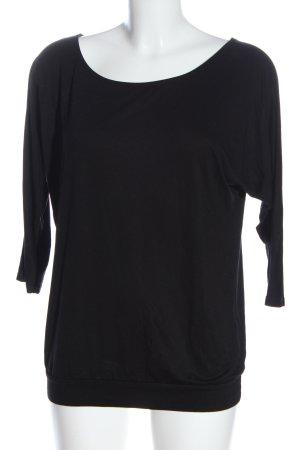GDM Basic-Shirt schwarz Casual-Look