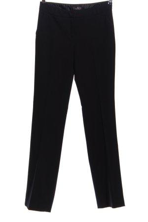 GDM Pantalon en jersey noir style d'affaires
