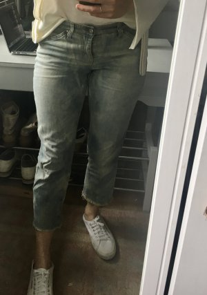 Jeans a 7/8 multicolore