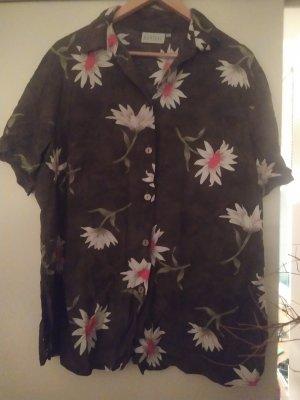 Barisal Oversized blouse donkergroen