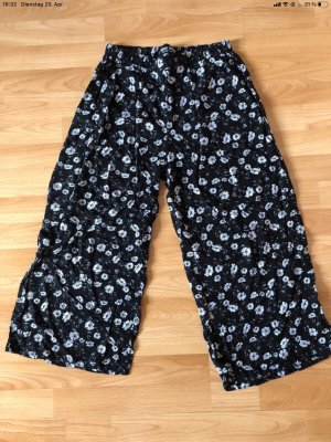 Tally Weijl Falda pantalón de pernera ancha negro-blanco
