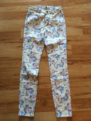 geblümte jeans gr.34