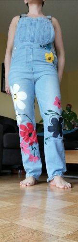 Misslook Jeans met bovenstuk azuur