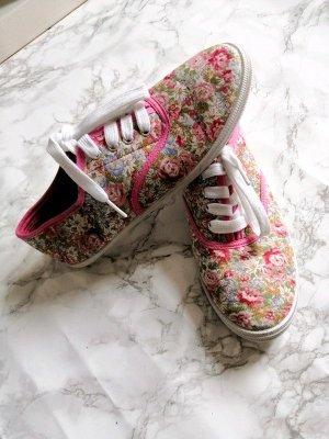 Geblümte Schuhe Gr. 38