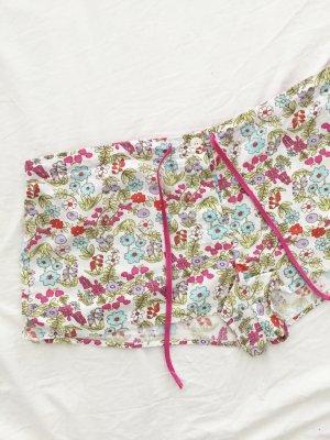 Geblümte Shorts / Hotpants / Schlafshorts / Sommershorts