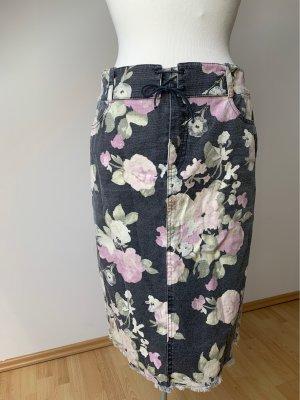 Caspar David Denim Skirt multicolored