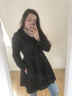 Anna Scott Trenchcoat noir-blanc