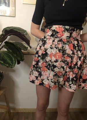 Vintage Spódnica z koła Wielokolorowy