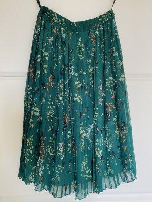 Vero Moda Plisowana spódnica Wielokolorowy Poliester