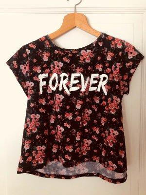FB Sister Cropped shirt veelkleurig