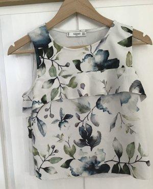 Mango Cropped top veelkleurig Polyester