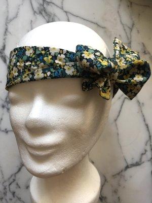 Geblümtes Haarband aus festem Stoff NEU