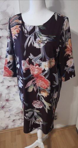 BAF Midi Dress white-brown violet