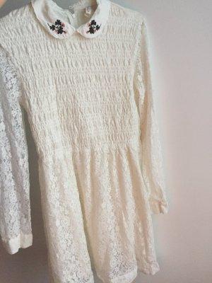 H&M Robe Hippie blanc
