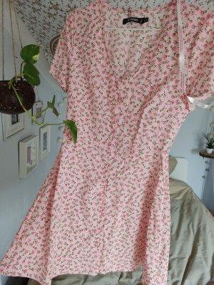 Missguided Mini Dress pink-green
