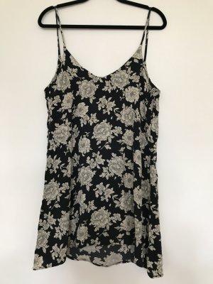 Brandy & Melville Mini Dress black-white mixture fibre