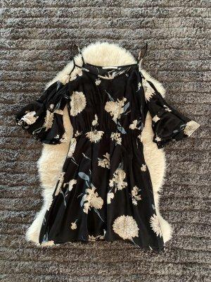 Gaudi Robe découpée noir-blanc