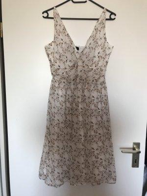 Promod Flounce Dress multicolored