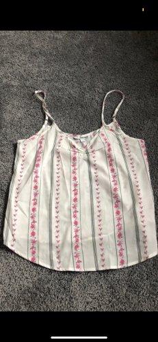 Tally Weijl Basic Top white-pink