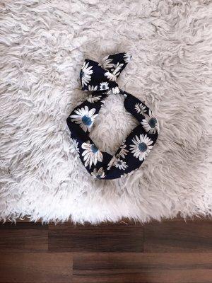 Copricapo bianco-blu
