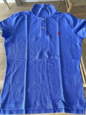 Polo Ralph Lauren Camiseta tipo polo azul aciano