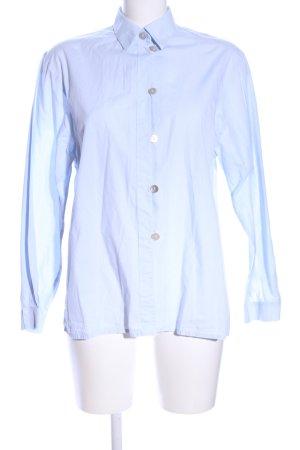 gede Hemd-Bluse blau Business-Look