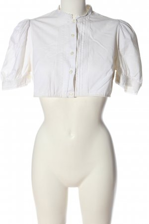 gede Traditional Blouse white elegant