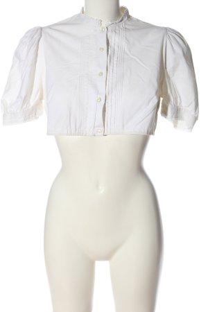 gede Folkloristische blouse wit elegant