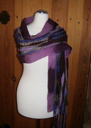 hand gemacht Woolen Scarf multicolored wool
