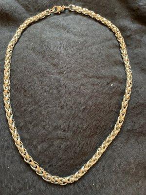 Geflochtene Silberkette 45cm