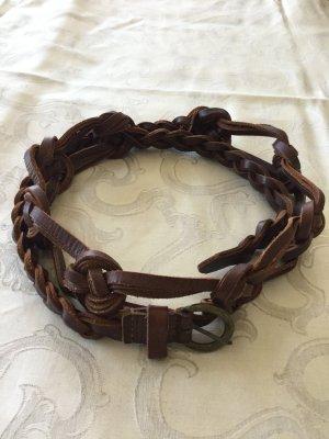 keine Marke bekannt Braided Belt cognac-coloured-brown