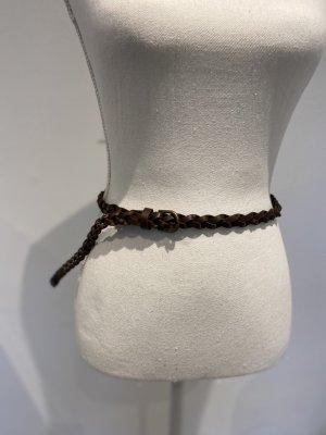 H&M Braided Belt brown