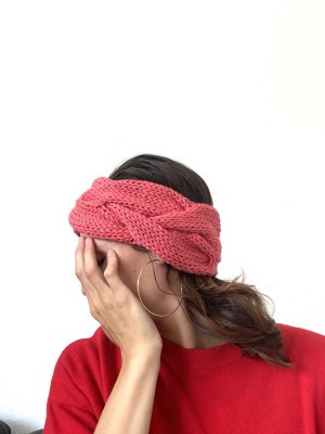 Geflochtenes Stirnband Wolle