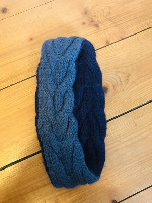 Knitted Hat dark blue-slate-gray