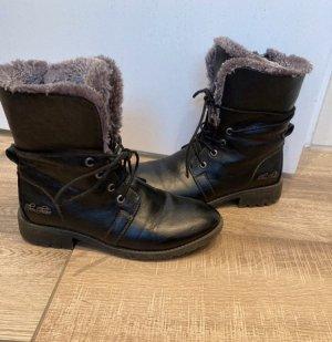 Tom Tailor Winter Booties black
