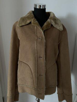 Gerry Weber Fur Jacket beige