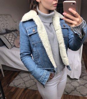 Asos Denim Veste en jean bleuet-bleu azur
